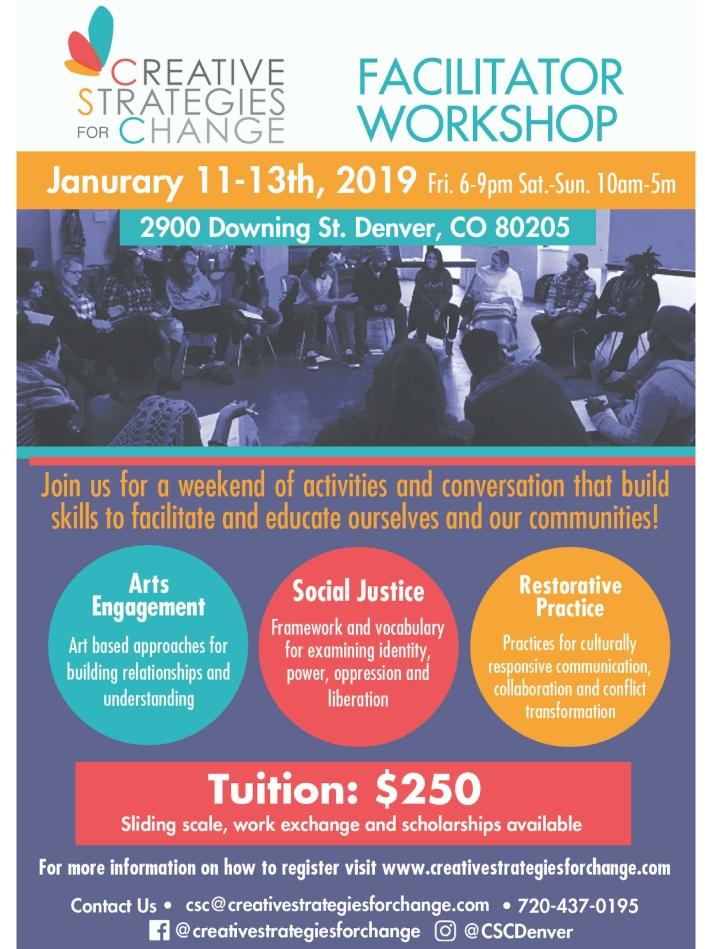Newest Facilitator Workshop